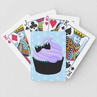 Cupcake Bicycle Playing Cards