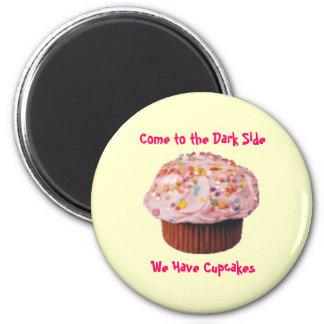 Cupcake Bliss 2 Inch Round Magnet