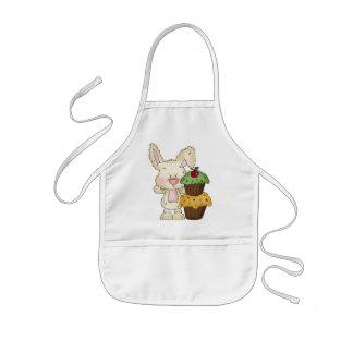 Cupcake Bunny apron