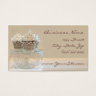 Cupcake Business Card Champaign