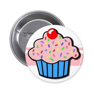 Cupcake button! 2 inch round button