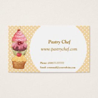 Cupcake Cake Pastries Business Card