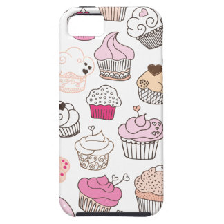 Cupcake candy pattern vintage iphone 5 iPhone 5 case