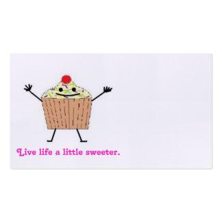 Cupcake Card Business Card