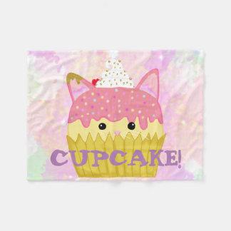 Cupcake Cat Blanket