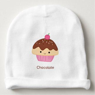 Cupcake, Chocolate Flavor Baby Beanie