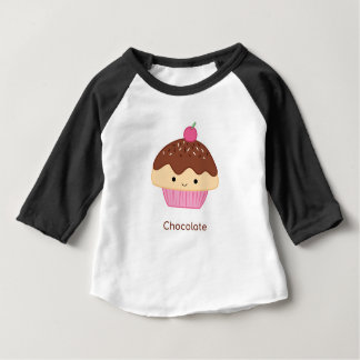 Cupcake, Chocolate Flavor Baby T-Shirt