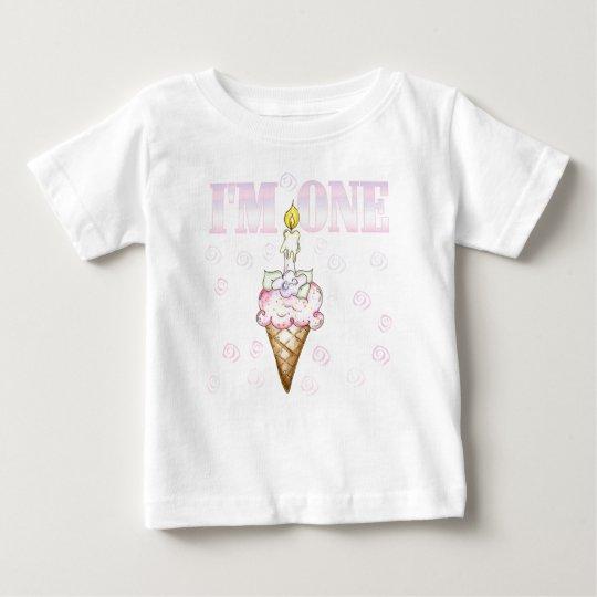 Cupcake  Cone I'm One Baby T-Shirt