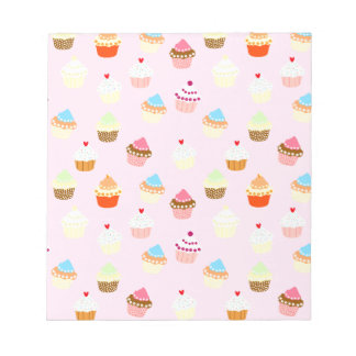Cupcake Confetti Notepads