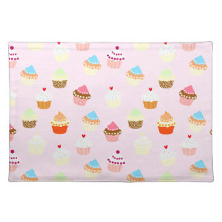 Cupcake Confetti Placemat