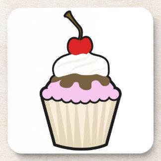 Cupcake Beverage Coaster