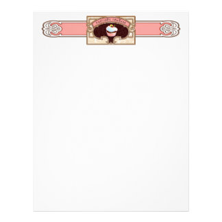 Cupcake Couture Letterhead Stationery