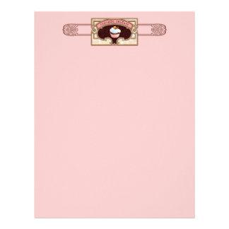 Cupcake Couture Sign Banner Letterhead Design
