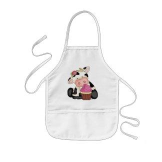 Cupcake Cow apron