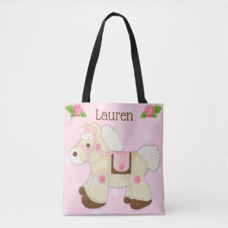 Cupcake Cowgirl Personalized Diaper/Tote Bag