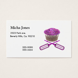 Cupcake & Crossbeaters Business Card