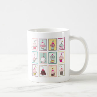 Cupcake Cupcakes Collage Sweet Desserts Snack Love Coffee Mug