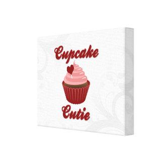 Cupcake Cutie Canvas Print