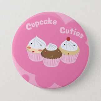 Cupcake Cuties! 3 Inch Round Button