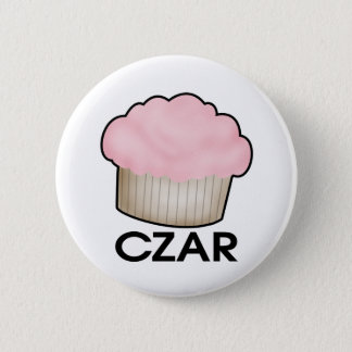 Cupcake Czar 2 Inch Round Button