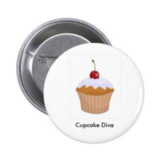 Cupcake Diva button