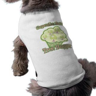 Cupcake Eating Tree Hugger Doggie Tee