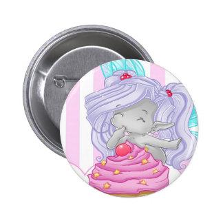 Cupcake Fairy Button