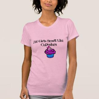 cupcake, Fat Girls Smell Like Cupcakes Shirt