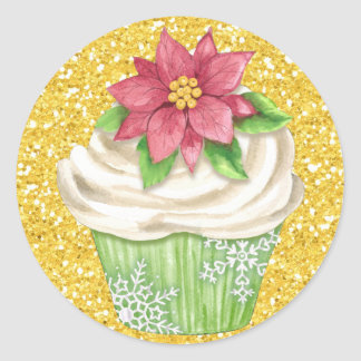Cupcake Food Sticker - SRF
