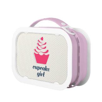 Cupcake Girl Lunch Box