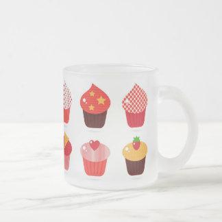 Cupcake Glass Mug