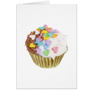 Cupcake Hearts Card