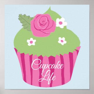 Cupcake Life Poster 11' x 11'