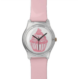 Cupcake Light Pink Wristwatch