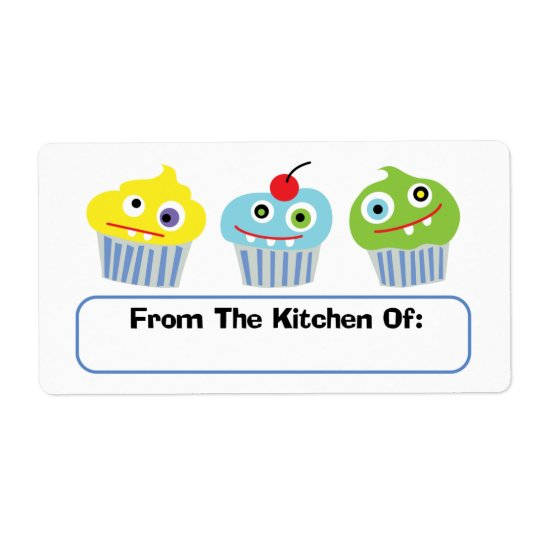 Cupcake Love  from the kitchen of labels