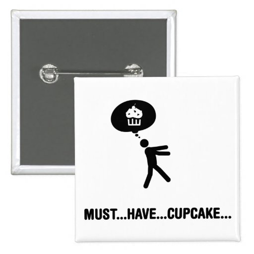 Cupcake Lover Pinback Buttons