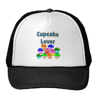 """""""Cupcake Lover""""---Mound of adorable cupcakes Trucker Hat"""