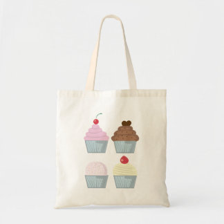 Cupcake Muffin Tote Bag