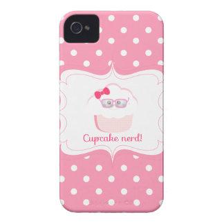 Cupcake Nerd iPhone 4 Covers