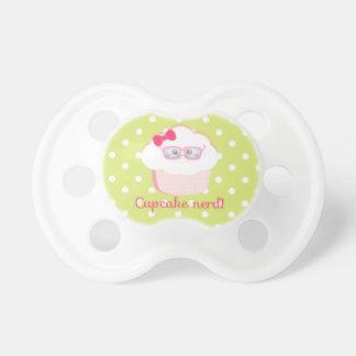 Cupcake Nerd Pacifier