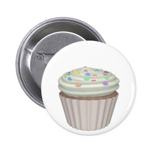 Cupcake of tuttifruti buttons