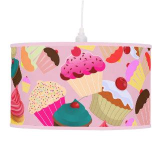 cupcake pendant lamp