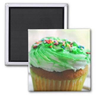 Cupcake Photograph Magnet