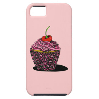 Cupcake - Pink iPhone 5 Case