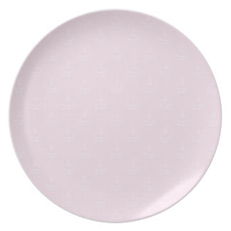Cupcake Plate- Pink Plates