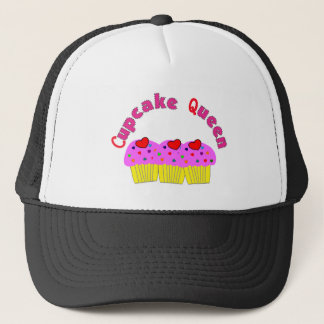 """""""Cupcake Queen""""  T-Shirts and Gifts Trucker Hat"""