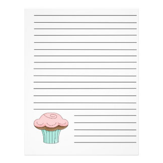 Cupcake Recipe Binder Pages Flyer