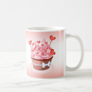 Cupcake Recipe Mug, White 11 oz Classic White Mug