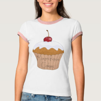 Cupcake Ringer T-Shirt