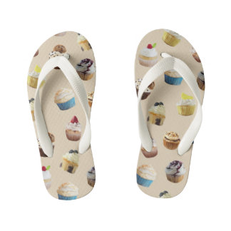 Cupcake royale kid's flip flops